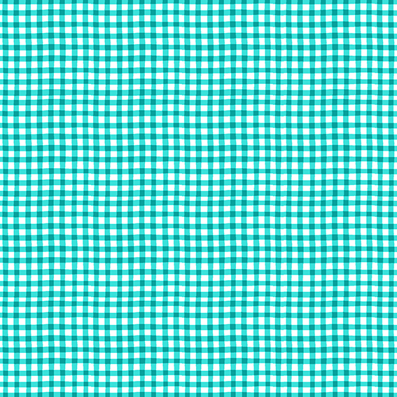 Kitty Blue Gingham