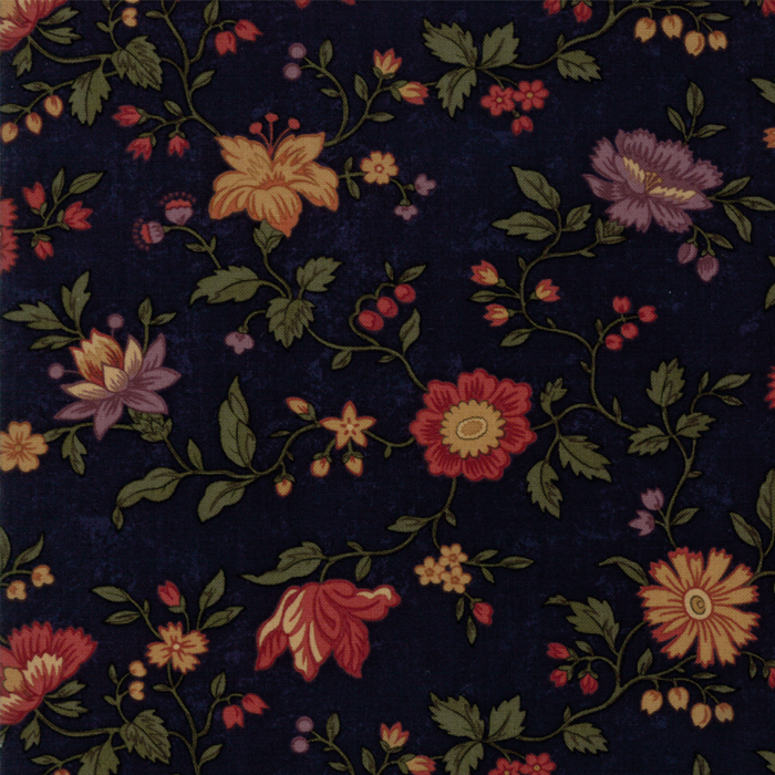 Natures Glory Navy Floral
