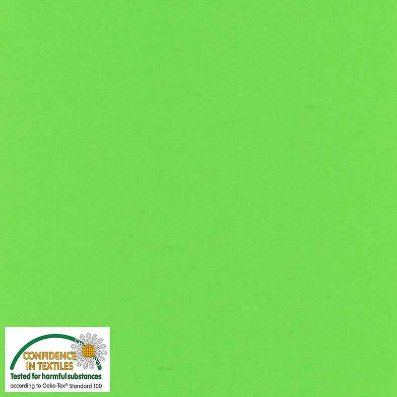 Quilters Solid - Lime Green