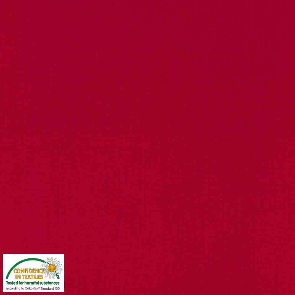 "Swan Solid Red 60"" WIDE"