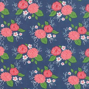 Gooseberry Blue Floral. Product thumbnail image