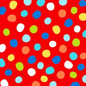 Swingin Safari Red Large Dots. Product thumbnail image