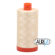 Aurifil 2110 Light Lemon. Product thumbnail image