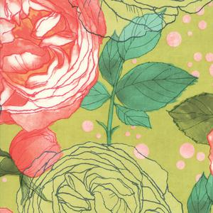 Abby Rose Green Large Flower. Product thumbnail image